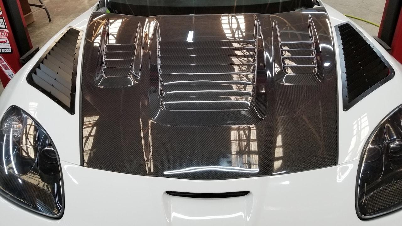 Storm Trooper Corvette Button Down Motorworks